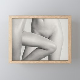 Two Lesbian Lovers Framed Mini Art Print