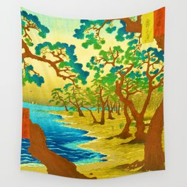 Rubino Asian Japan Forest Wall Tapestry