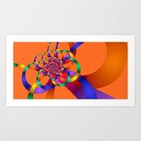time for fractals -8- Art Print
