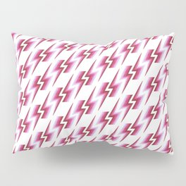 Lightning Pattern - Berry Pillow Sham