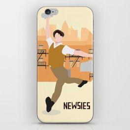 newsies iPhone Skin