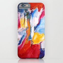 Come Down Isaiah 64 Christian Abstract iPhone Case
