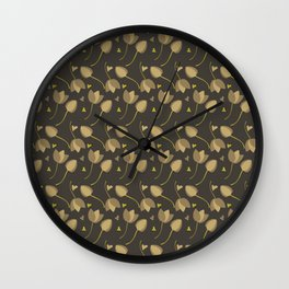 Lovely Floral II Wall Clock