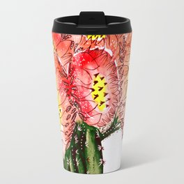 Blooming Cacti Travel Mug