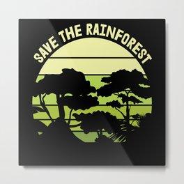 Environmental Protection Nature Planet Green Metal Print