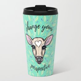 Change Your Perspective Tan Baby Cow Travel Mug