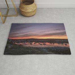 Last Rockport Sunset of Summer Rug