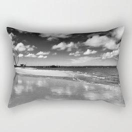 Arcachon reflections. Rectangular Pillow