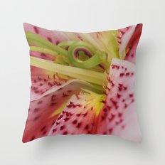 Up Close Throw Pillow