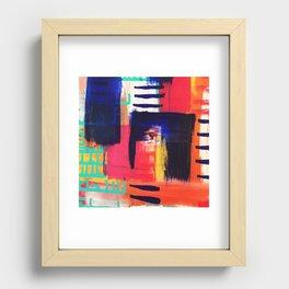 Rain 09 Recessed Framed Print