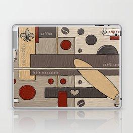 Kaffee / coffee / café Laptop & iPad Skin