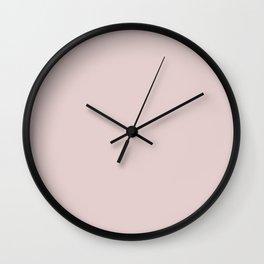 Mauve Chalk Wall Clock