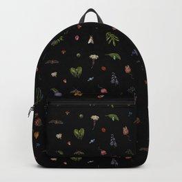 Nocturnal Floral Backpack