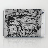 in the flesh iPad Cases featuring Kiss her flesh expire  by Katie Jean Images