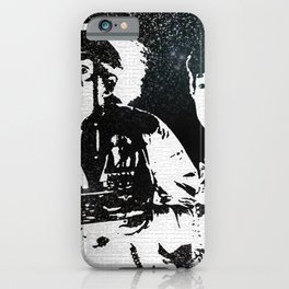 Roads? Where we're going, we don't need roads iPhone Case