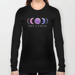 Not A Phase - Bisexual Pride Langarmshirt