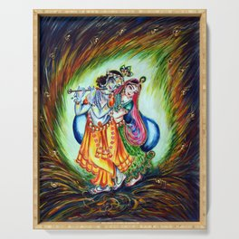Radha Krishna  Serving Tray