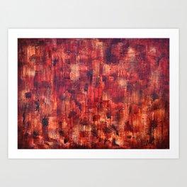 """""""Red Wine"""" by Simon Brushfield Art Print"""