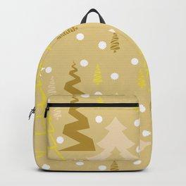 Golden Christmas Backpack