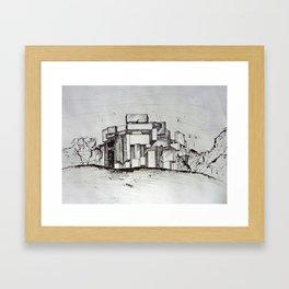 wotruba Framed Art Print