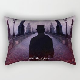 Jack The Ripper Rectangular Pillow
