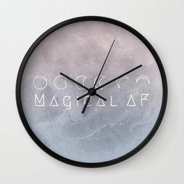 Magical AF Wall Clock