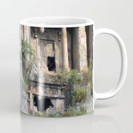 Rock Tombs Photograph Fethiye Coffee Mug