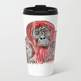 Orangutans Travel Mug