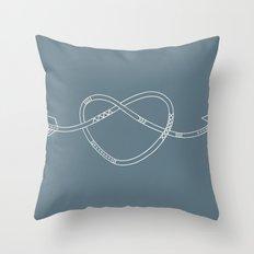 The Heart & The Arrow Throw Pillow