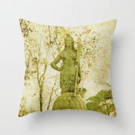Ponte delle Sirenette  Throw Pillow
