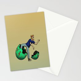 The Num Nums - Ziggy Stationery Cards