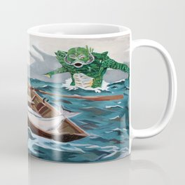 "Winslow Homer's ""Storm Warning"" Revisted Coffee Mug"