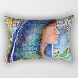 Be Love Rectangular Pillow