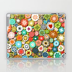 millefiori yellow Laptop & iPad Skin
