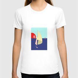 Sailing in May with May - shoes stories T-shirt
