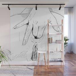 Open Wide Wall Mural