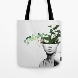 LADY FLOWERS XIII Tote Bag