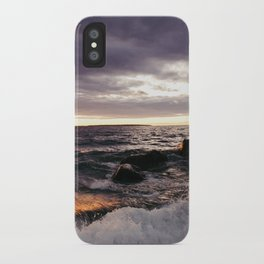 The Shoulders Of Waves iPhone Case