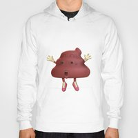 poop Hoodies featuring Poop by Adrián Sandá