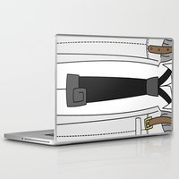 soul eater Laptop & iPad Skins featuring Soul Eater Evans Spartoi Uniform by Bunny Frost