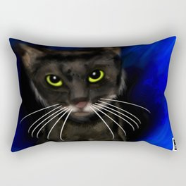 Dark Kitty Rectangular Pillow