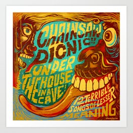 Under the house Art Print