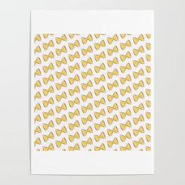 Pasta bow Poster