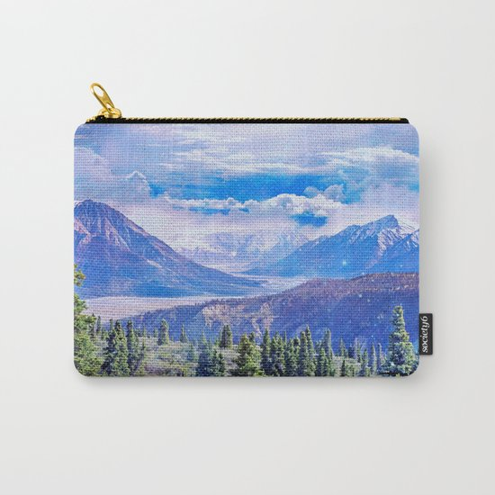 Neverland mountains Carry-All Pouch