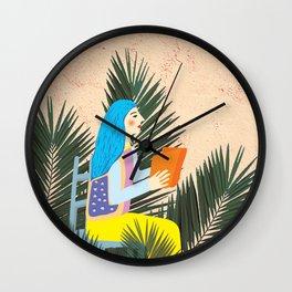 Holiday Mood I Wall Clock