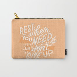 rest when you need to Carry-All Pouch