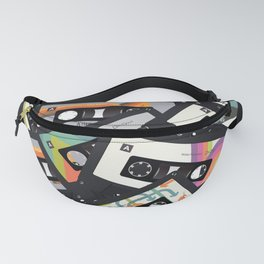 Retro Vintage Cassette Tapes Fanny Pack