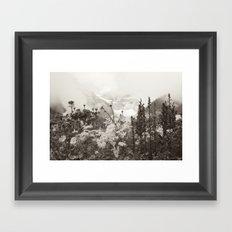 Mountain Breeze Framed Art Print