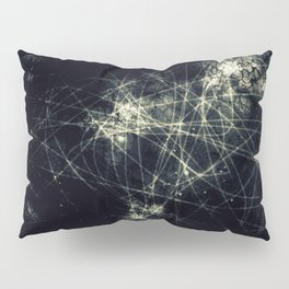 Infinity Particles Abstract Pillow Sham