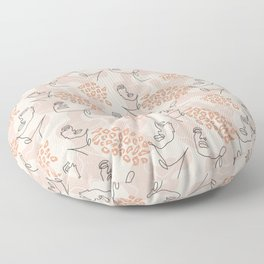 Modern fashionable pattern Floor Pillow